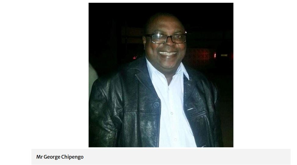 GEORGE CHIPENGO AGRICULTURAL SHOW SOCIETY FORMER PRESIDENT MATABELELAND SOUTH