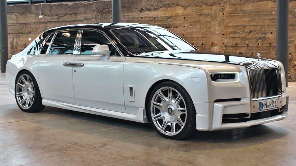 Rolls Royce Phantom GVE Zimbabwean minister Tino Machakaire