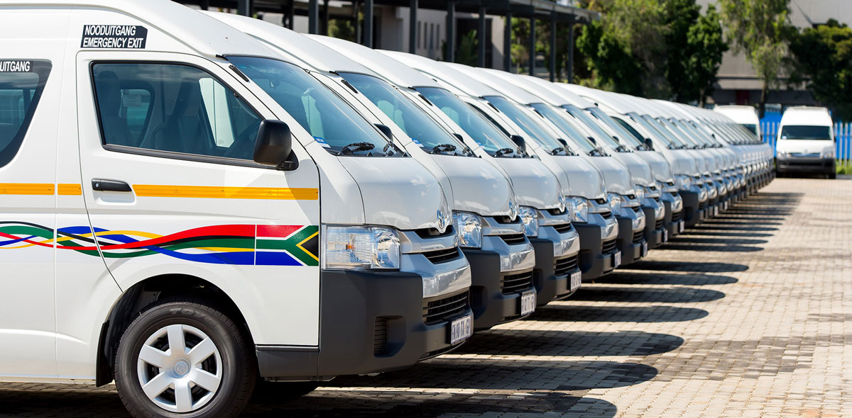 SOUTH AFRICA TAXI WARS Commuter Omnibus
