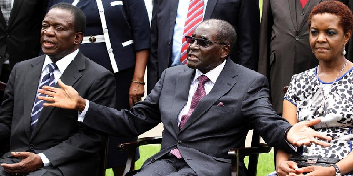 emmerson mnangagwa mugabe robert grace Zimbabwe wrong direction two-thirds