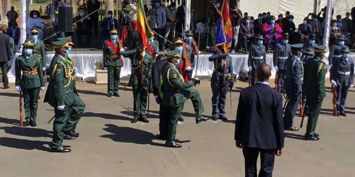 Defence Forces Day: Pictures From State House