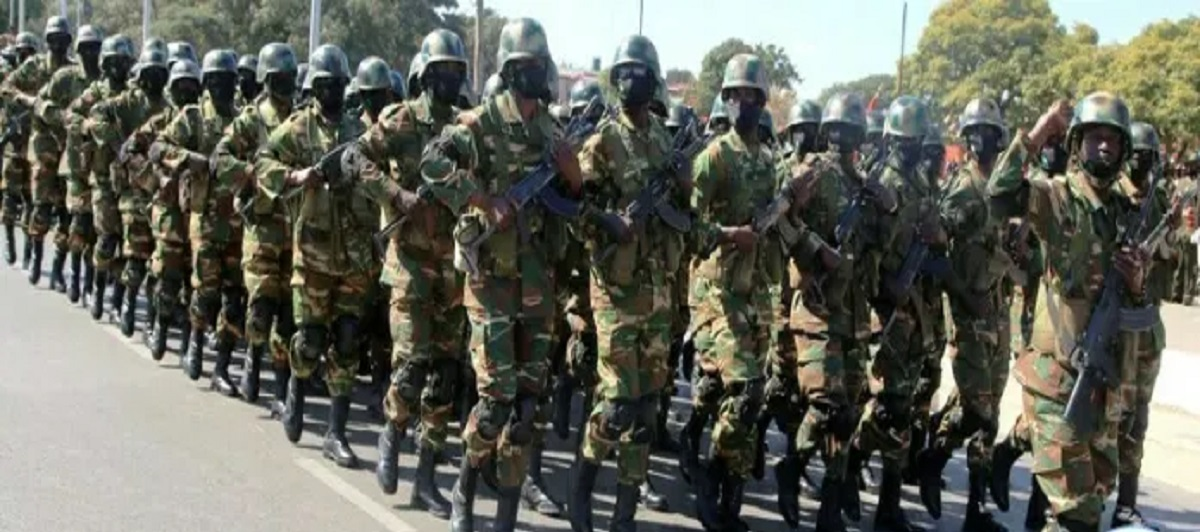 DEFENCE soldiers army Zambia Edgar Lungu elections