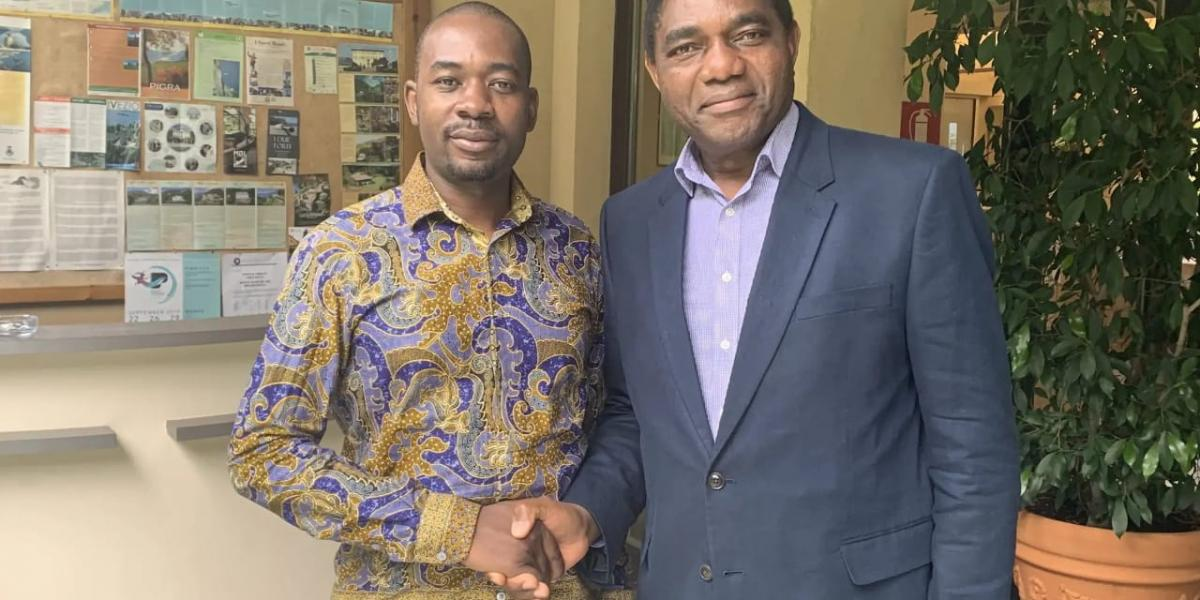 Chamisa Invited To Attend Hichilema's Inauguration There Are Three Things Chamisa Is Failing To Understand - Analyst