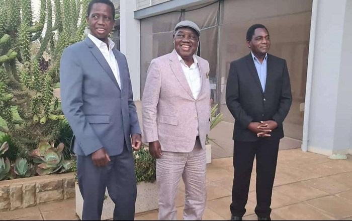 Lungu, Banda and Hichilema