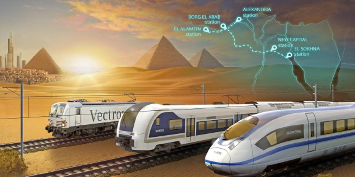 Egypt Signs $4.5bn Contract With Siemens For High-Speed Electric Rail System
