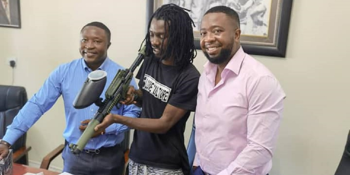 Mnangagwa's Sons Help Enzo Ishall Set Up Paintball Park, Stays In Music